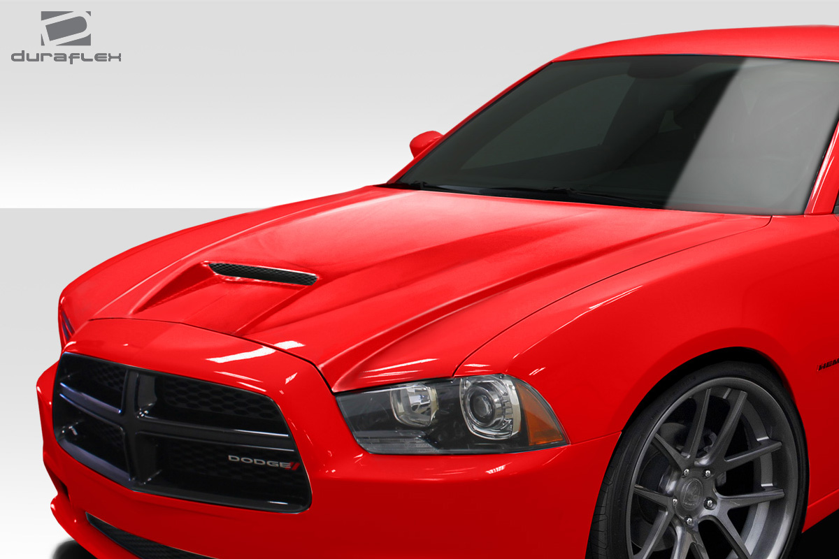 Welcome to Extreme Dimensions :: Inventory Item :: 2011-2014 Dodge Charger Duraflex SRT 2 Hood ...