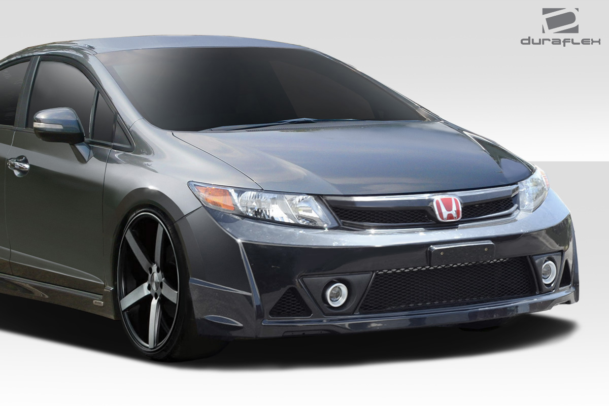 welcome to extreme dimensions inventory item 2012 2014 honda civic 4dr duraflex mr front. Black Bedroom Furniture Sets. Home Design Ideas