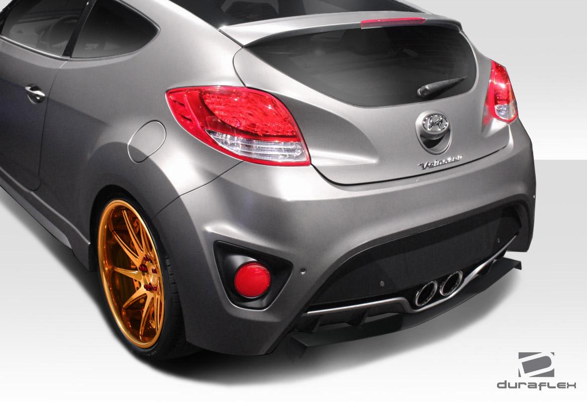 12 15 Fits Hyundai Veloster Turbo Nd Duraflex Rear Bumper Lip Body Kit 112789 Ebay