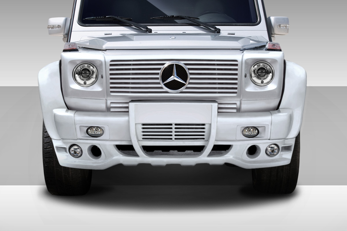 00 10 mercedes g class eros version 1 duraflex 7pcs full for Mercedes benz g500 parts accessories
