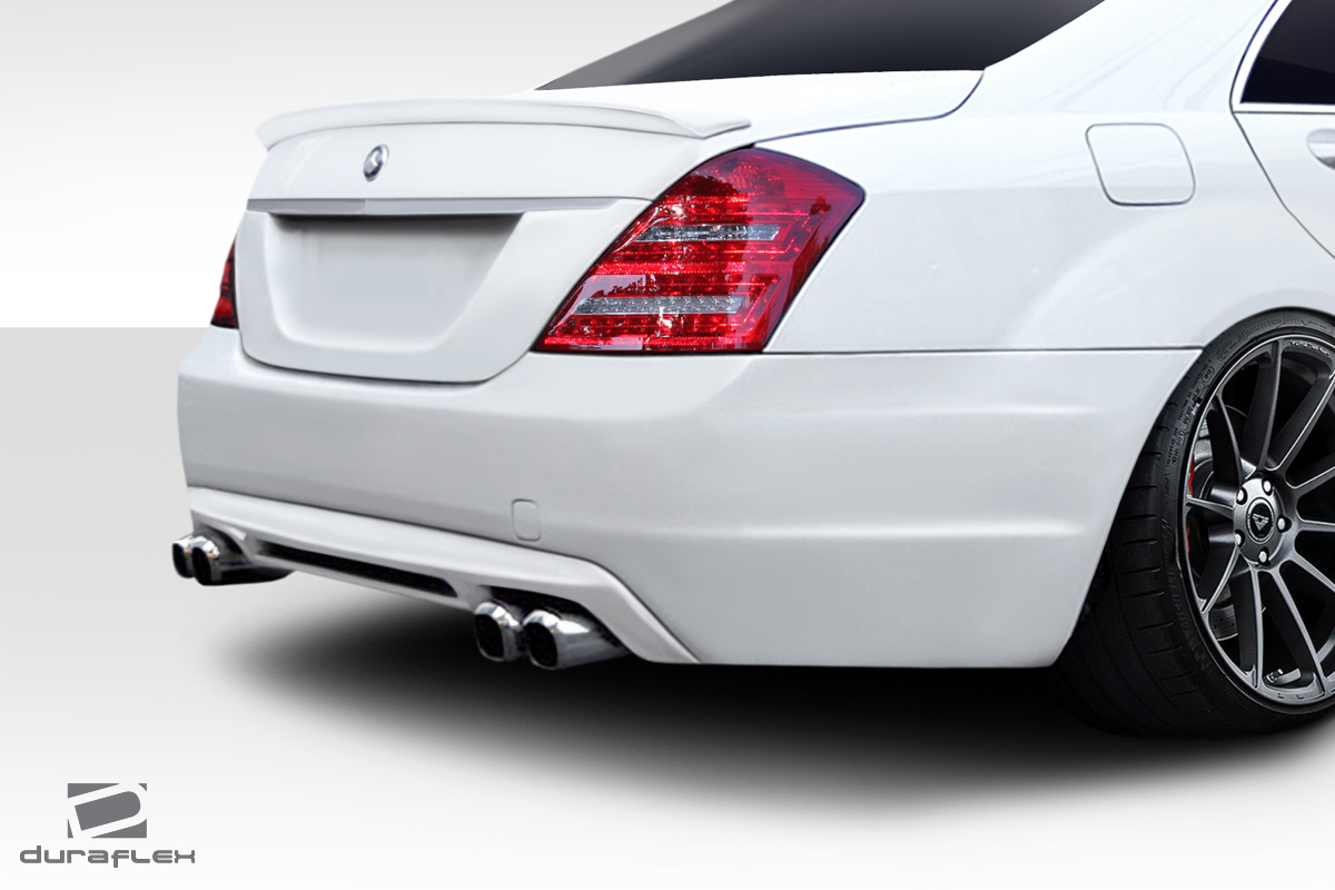 fiberglass rear bumper body kit for 2012 mercedes s class 2010 2013 mercedes s class w221. Black Bedroom Furniture Sets. Home Design Ideas