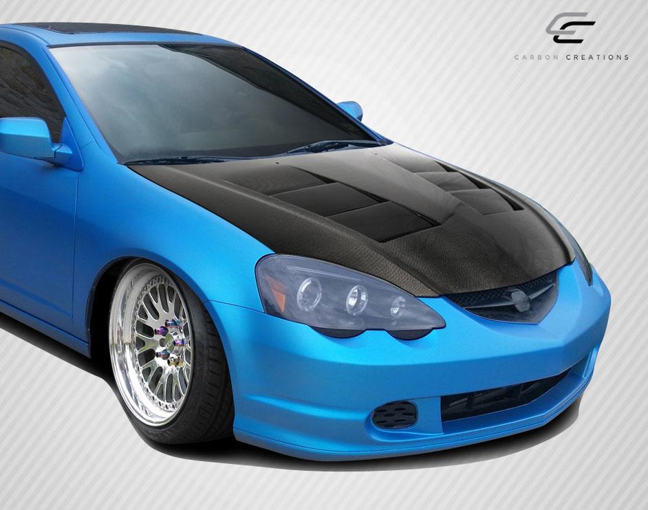 Acura RSX Ts Dritech Carbon Fiber Body Kit Hood EBay - Acura rsx hood