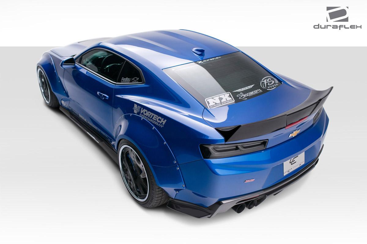 16 17 chevrolet camaro grid duraflex body kit wing spoiler. Black Bedroom Furniture Sets. Home Design Ideas