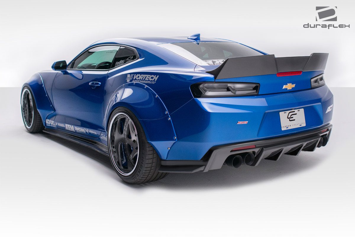 Welcome To Extreme Dimensions Inventory Item 2016 2018 Chevrolet Camaro Duraflex Grid Rear