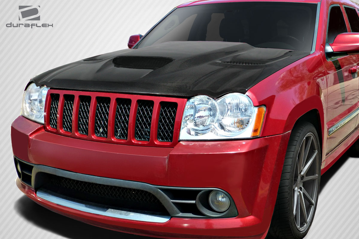 2011 Jeep Grand Cherokee Body Kit >> 05-10 Jeep Grand Cherokee Hellcat Look DriTech Carbon ...