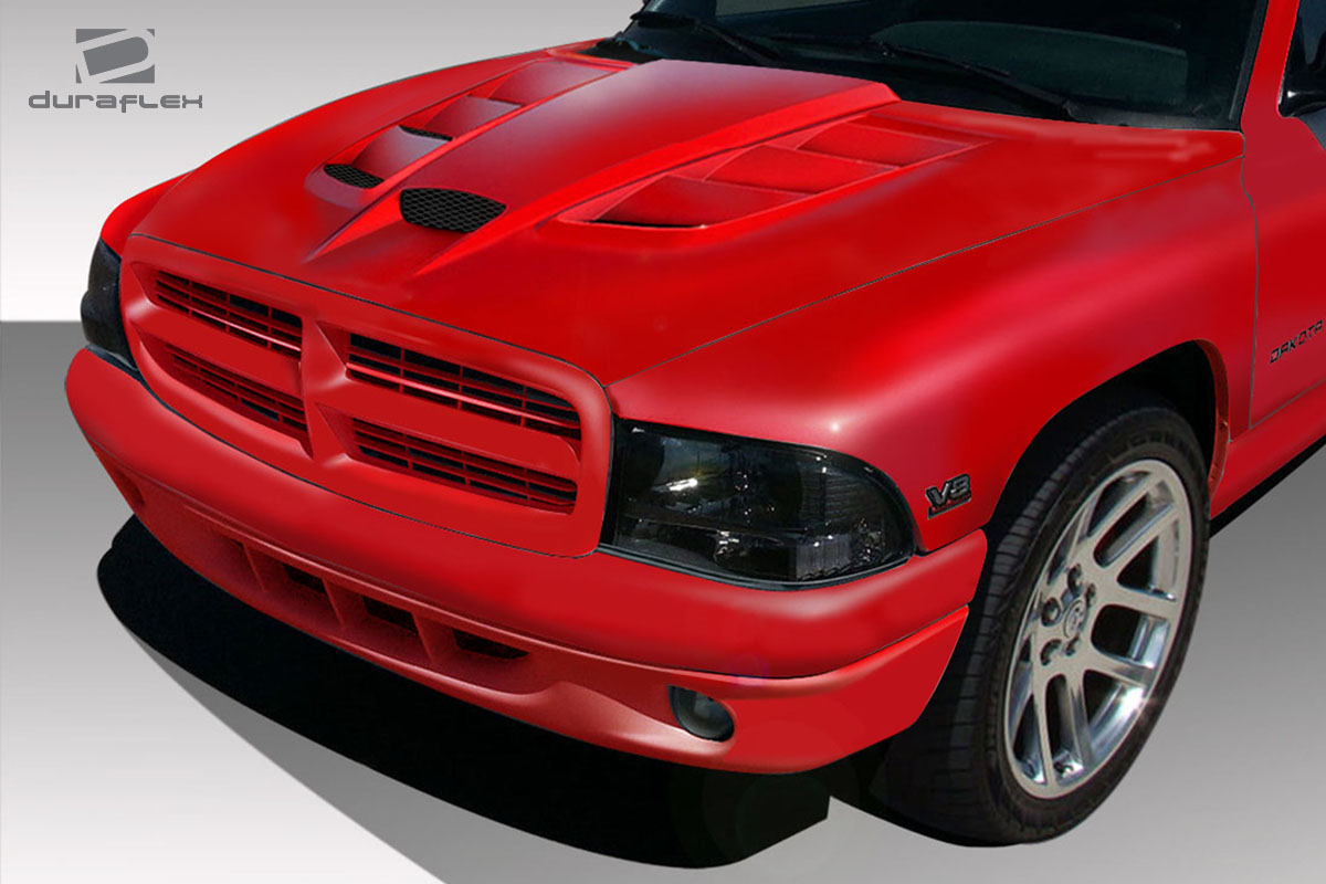 Hood Body Kit For 1999 Dodge Dakota 0 1997 2004 Dodge Dakota 1998 2003 Durango Duraflex Viper Look Hood 1 Piece Xsv