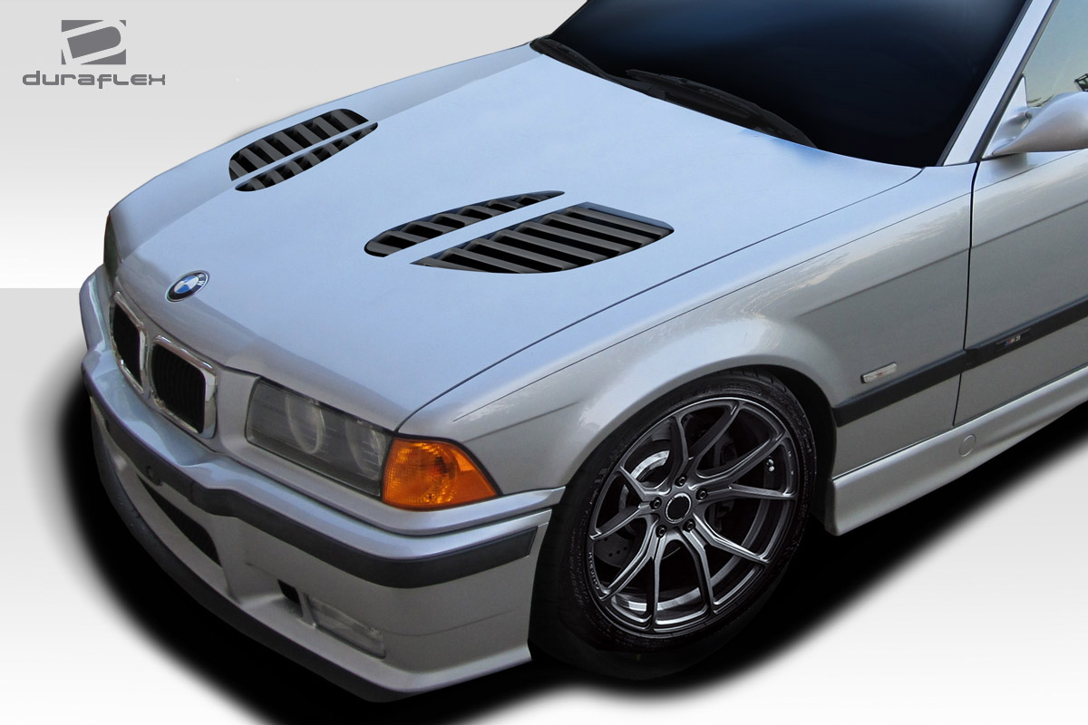 1992 1998 bmw 3 series m3 e36 2dr duraflex gtr hood 1 piece body kit 6544839216941 ebay. Black Bedroom Furniture Sets. Home Design Ideas