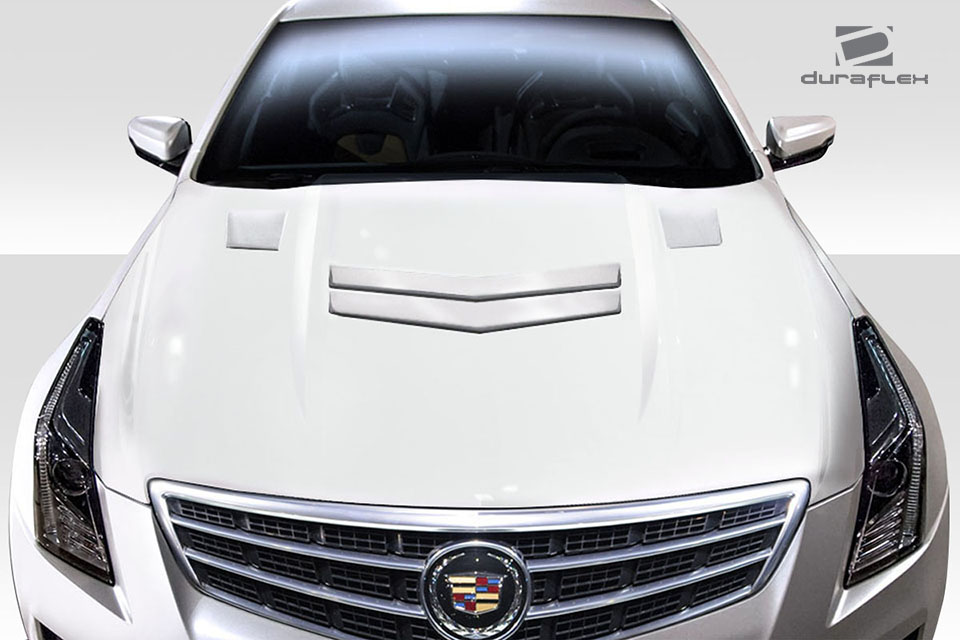 2018 Cadillac Ats 0 Hood Body Kit 2013 2018 Cadillac Ats Duraflex