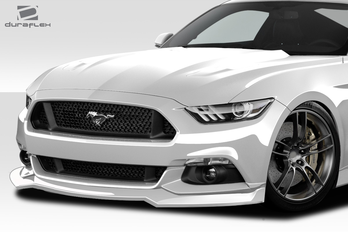 front lip add on body kit for 2017 ford mustang 0 2015. Black Bedroom Furniture Sets. Home Design Ideas
