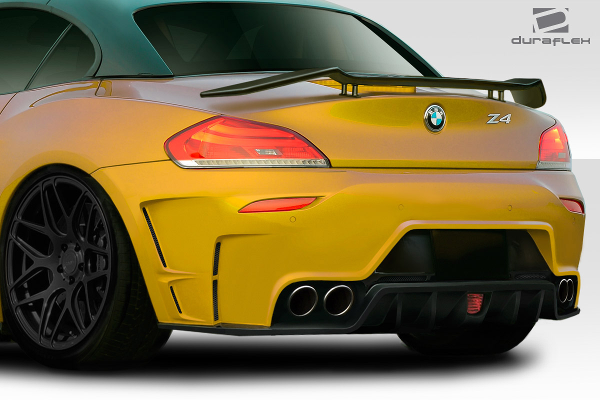 09 16 Bmw Z4 Tkr Duraflex Rear Body Kit Bumper 113519