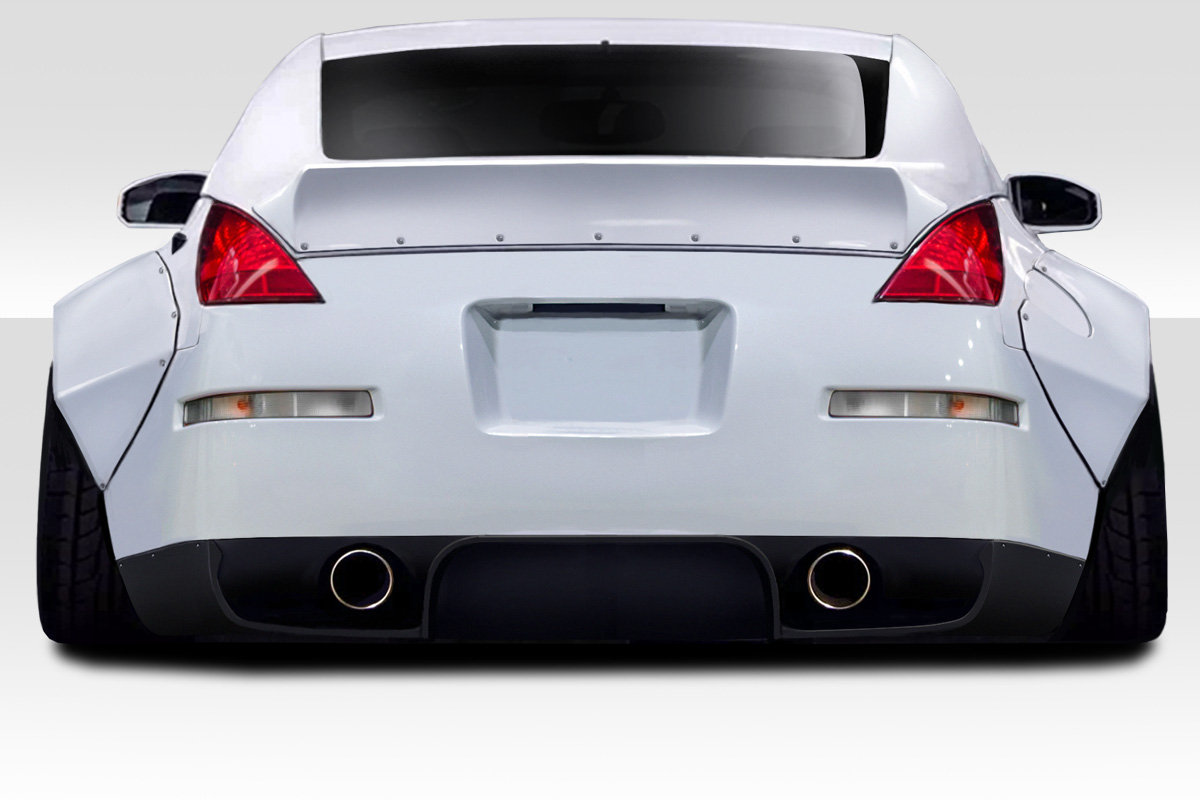 welcome to extreme dimensions    item group    2003-2008 nissan 350z z33 duraflex rbs kit