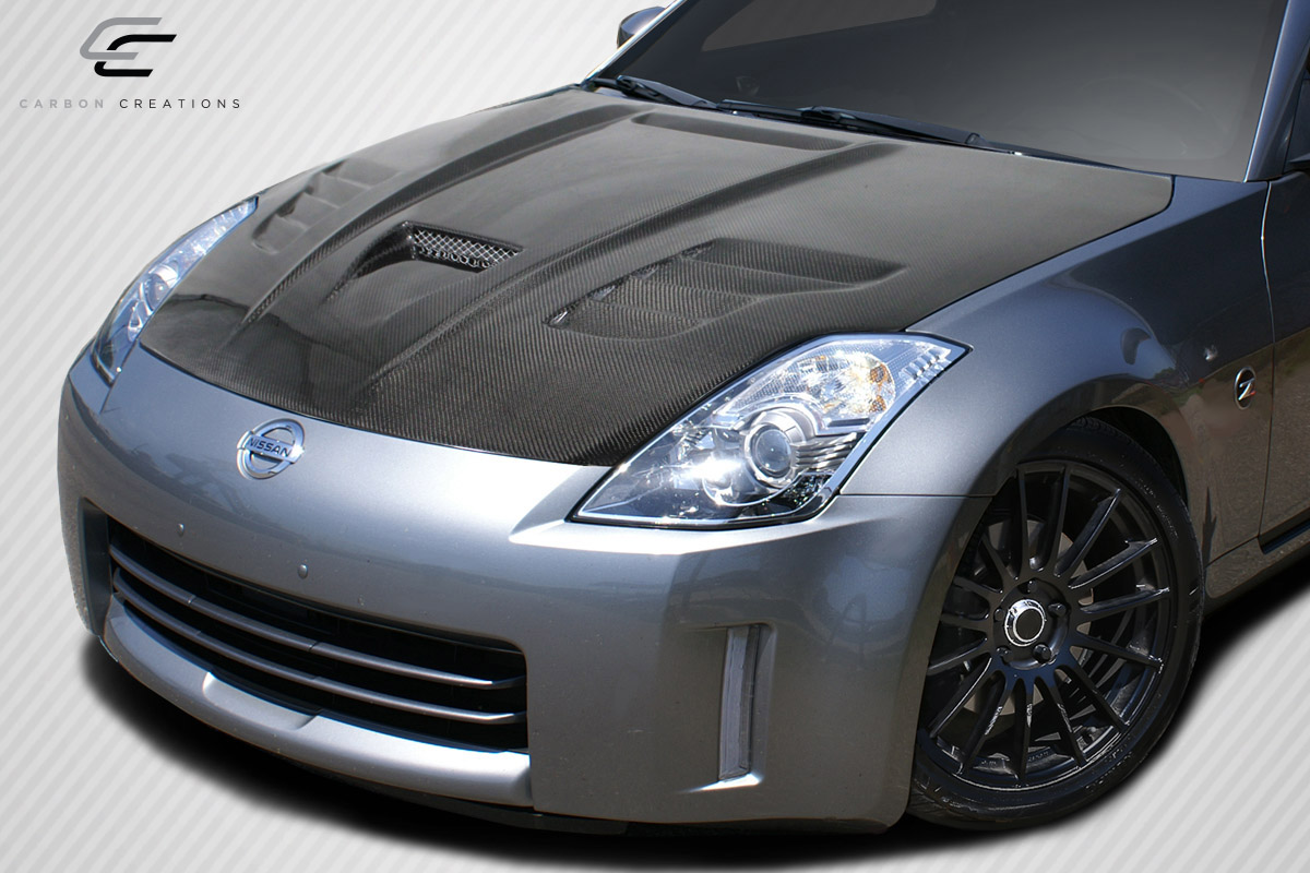 Hd Ns Oe likewise  also Download Php Image Id   Additional Img Black Z Carbon Fiber moreover Full moreover . on 350z carbon fiber hood