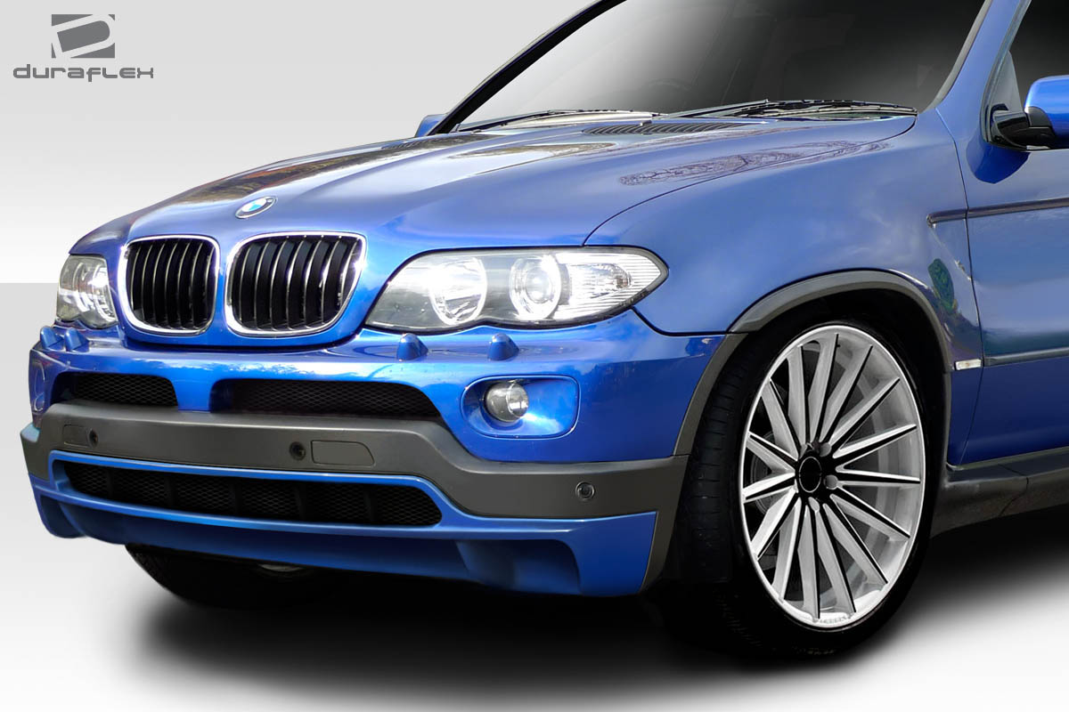 00 06 bmw x5 look duraflex front bumper lip body kit 113679 ebay. Black Bedroom Furniture Sets. Home Design Ideas