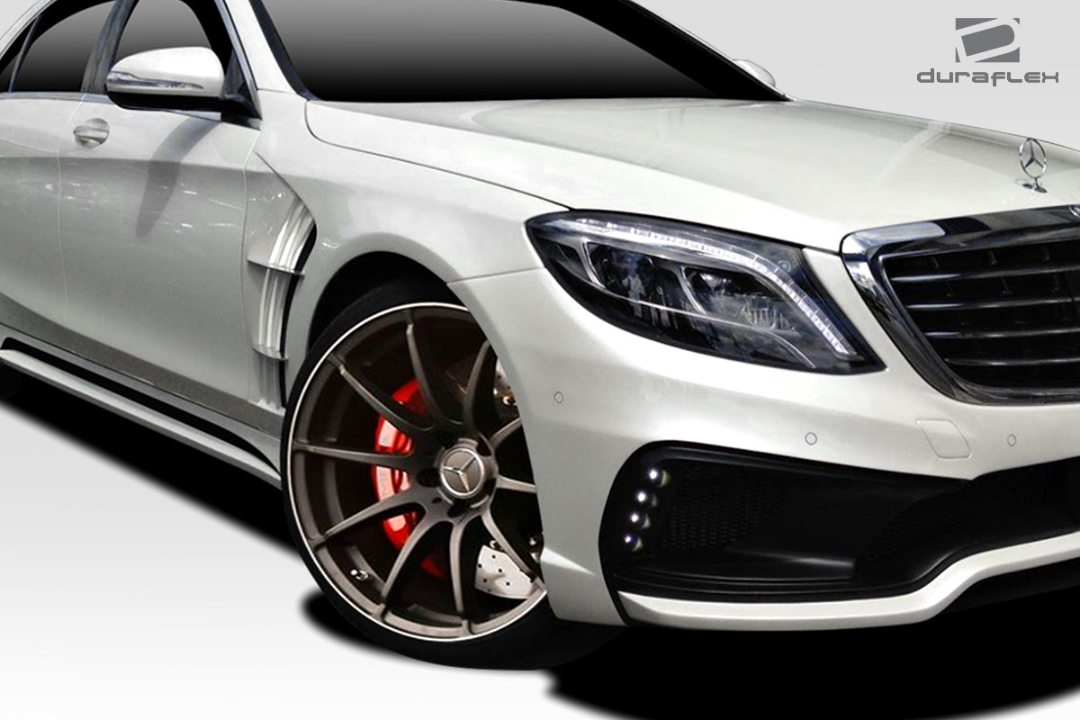 2015 mercedes s class fender body kit 2014 2018 mercedes s class w222 duraflex w 1 fenders 2. Black Bedroom Furniture Sets. Home Design Ideas