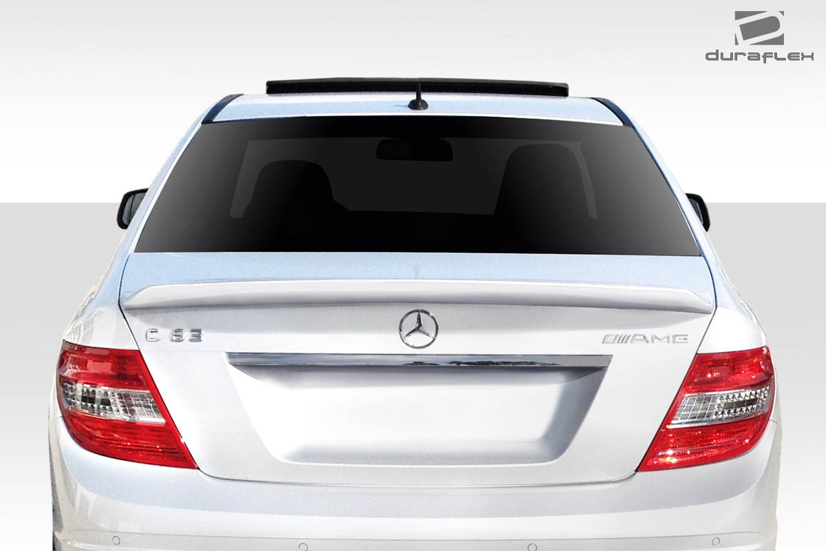 2012 Mercedes C Class  Wing Spoiler Body Kit - 2008-2014 Mercedes C Class W204 Duraflex AF2 Wing Spoiler - 1 Piece