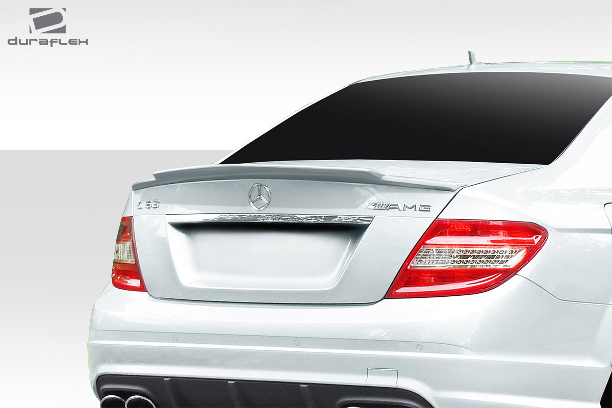 wing spoiler body kit for 2010 mercedes c class 2008 2014 mercedes c class w204 duraflex r. Black Bedroom Furniture Sets. Home Design Ideas