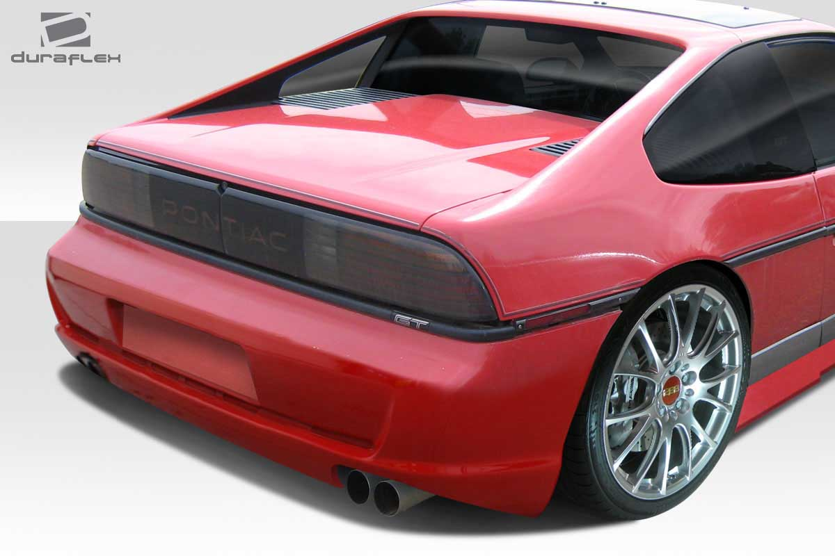 1987 Pontiac Fiero 0 Fiberglass Rear Bumper Body Kit 1984 1988