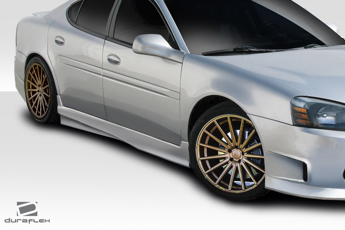 04 08 Pontiac Grand Prix Showoff Duraflex Side Skirts Body Kit