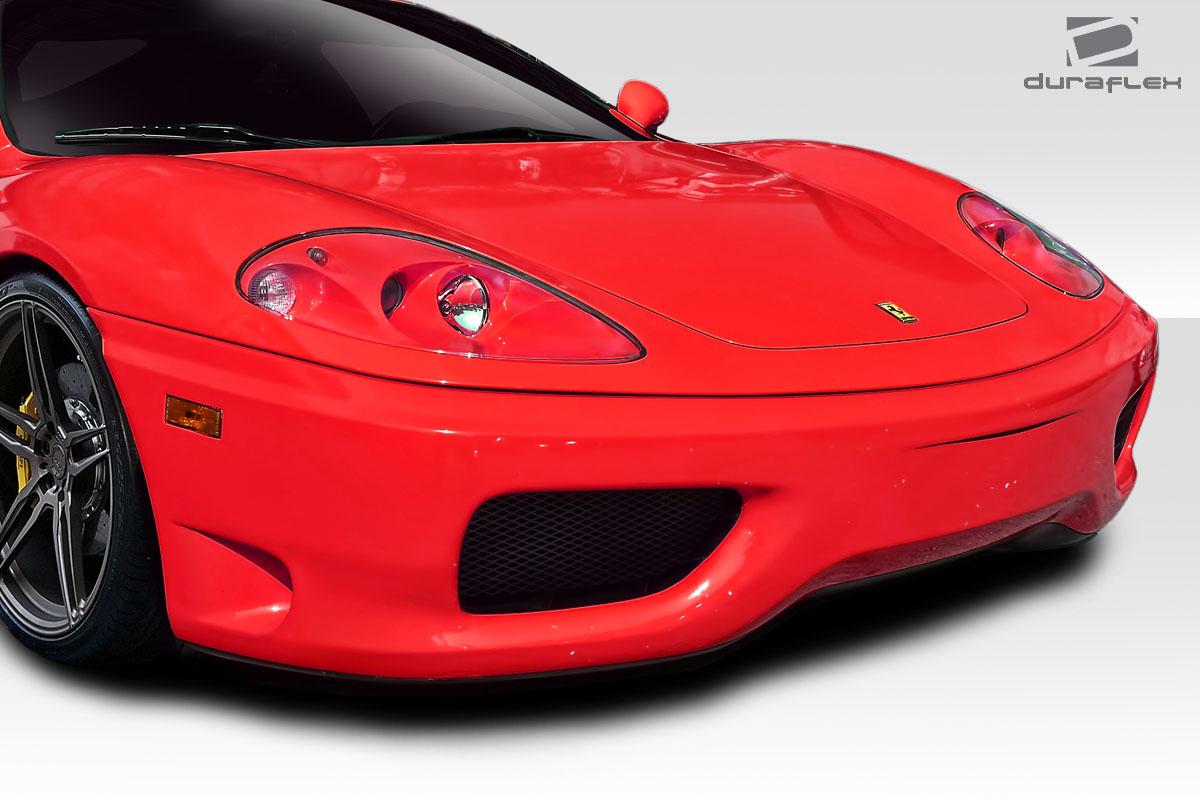 2004 Ferrari 360 Modena 0 Front Bumper Body Kit - 1999-2004 Ferrari 360 Modena Duraflex Challenge Look Front Bumper Cover - 1 Piece