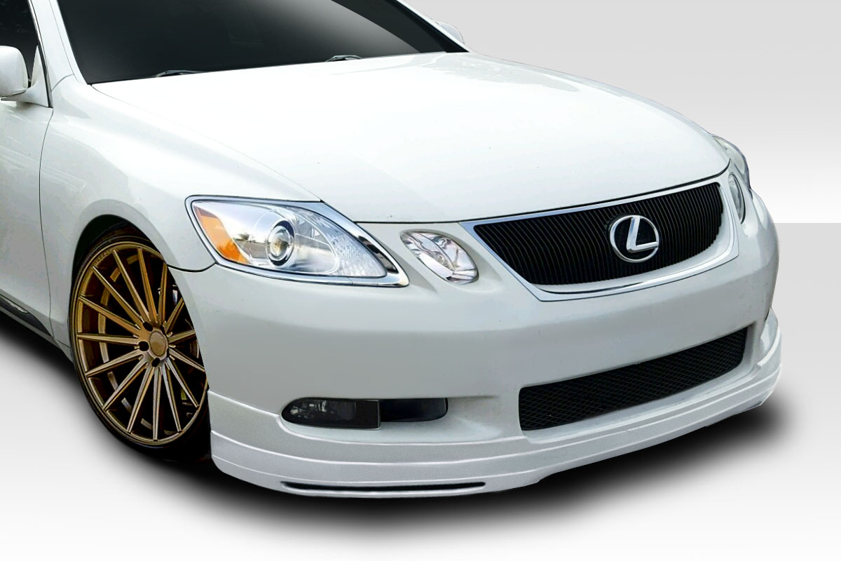 2011 Lexus GS 0 Front Lip-Add On Body Kit - 2006-2007 Lexus GS Series GS300 GS350 GS430 GS450 GS460 Duraflex JPR Front Lip Under Spoiler Air Dam - 1 Piece