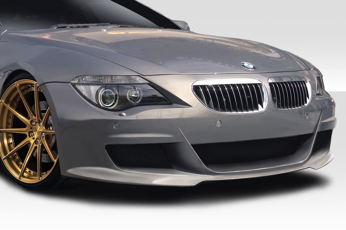 2009 BMW 6 Series 2DR Front Bumper Body Kit - 2004-2010 BMW 6 Series E63 E64 Convertible 2DR Duraflex LMS Front Bumper Cover - 1 Piece