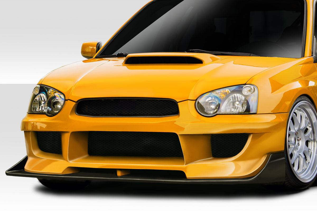 2004 Subaru Impreza 0 Front Bumper Body Kit - 2004-2005 Subaru Impreza WRX STI 4DR Duraflex M-1 Sport Front Bumper Cover- 2 Piece