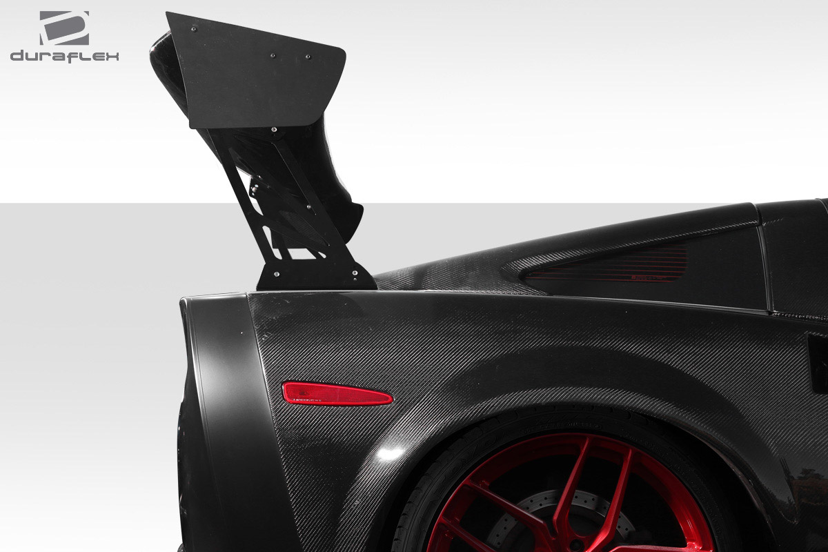 "2011 0 0 0 Wing Spoiler Body Kit - Universal 80"" Duraflex VRX V1 Tall Wing Complete Kit - 9 Piece"