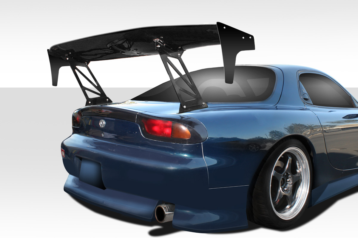 "2019 0 0 0 Wing Spoiler Body Kit - Universal 80"" Duraflex VRX V2 Tall Wing Complete Kit - 9 Piece"
