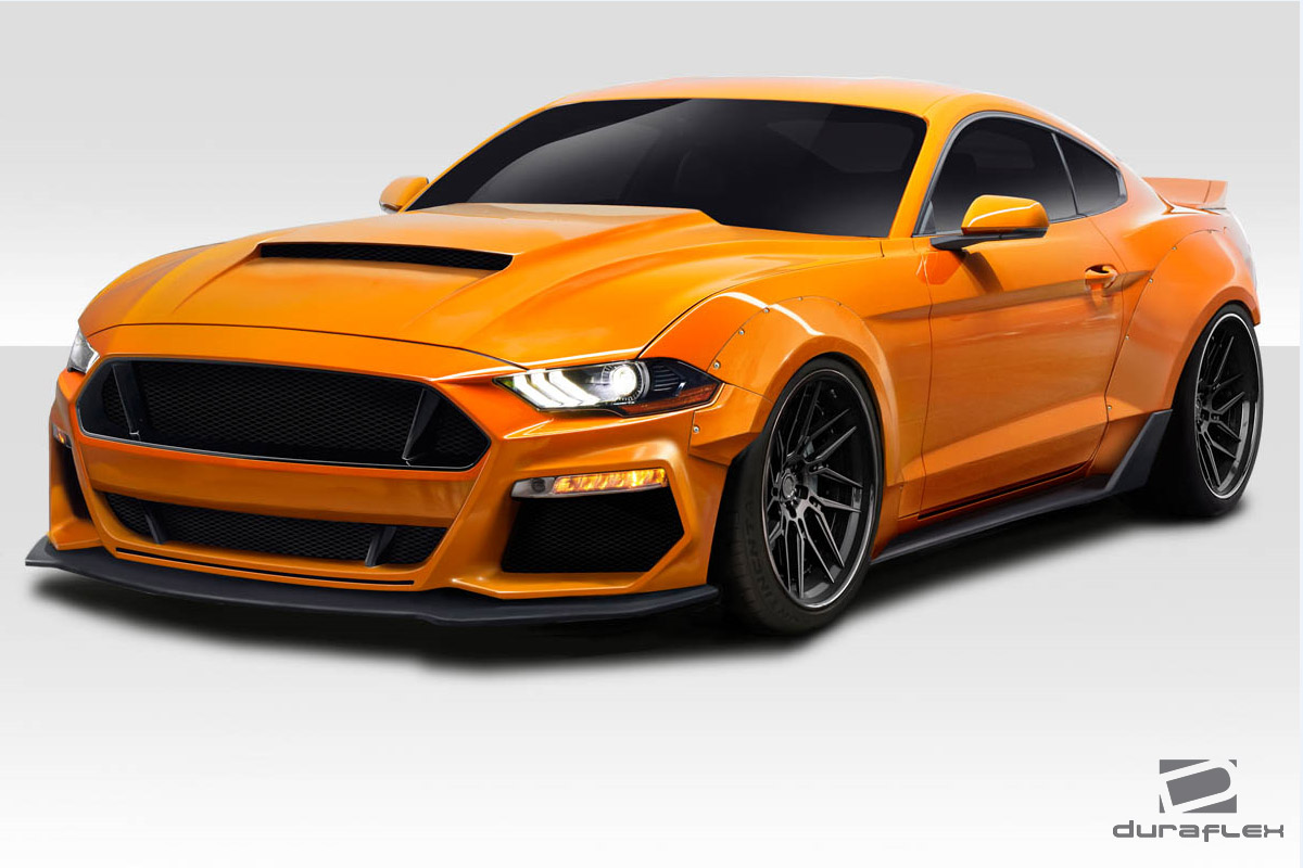 welcome to extreme dimensions item group 2018 2020 ford mustang duraflex grid wide body. Black Bedroom Furniture Sets. Home Design Ideas