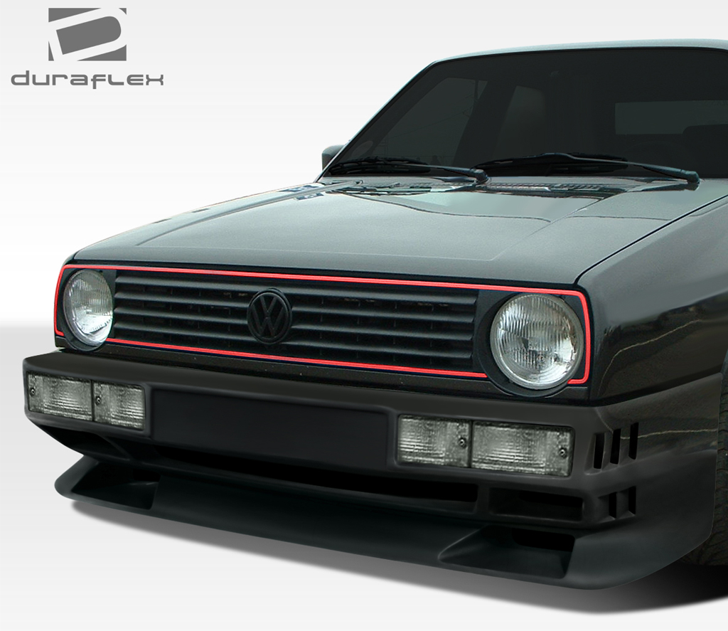 fiberglass front bumper body kit for 1990 volkswagen golf. Black Bedroom Furniture Sets. Home Design Ideas