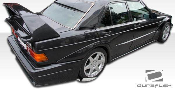 86 95 mercedes e class 4dr evo 2 duraflex rear wide body for 190e rear window spoiler