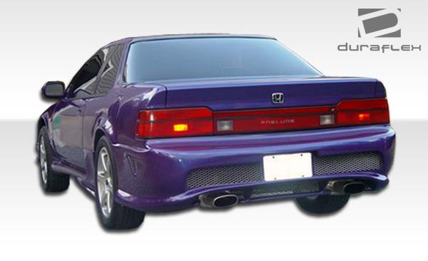 1990 honda prelude fiberglass rear bumper body kit 1988 1991 honda prelude duraflex kombat rear bumper cover 1 piece overstock xsv custom auto xsv custom auto
