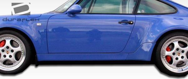 89-94 Porsche 964 Turbo Look Duraflex Side Skirts Body Kit!! 105389