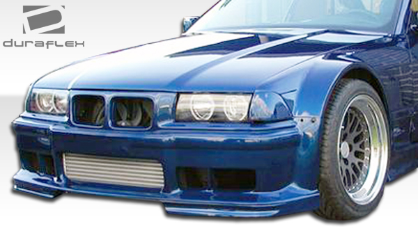 duraflex gt500 wide body kit 8 pc for 92 98 bmw 3 ser e36 2dr 105468 ebay. Black Bedroom Furniture Sets. Home Design Ideas