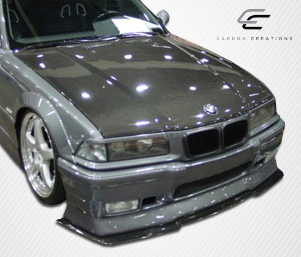 Carbon Fiber Hood Body Kit For 1995 BMW 3 Series 2DR