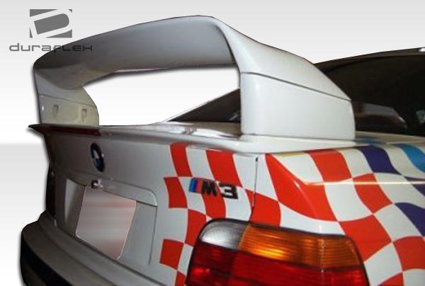 92 98 bmw 3 series m3 e36 2dr duraflex dtm look wing trunk. Black Bedroom Furniture Sets. Home Design Ideas