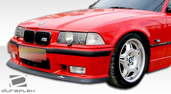Duraflex E36 AC-S Front Lip Under Spoiler Air Dam 1 Piece for M3 BMW 92-98