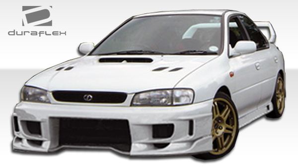 Duraflex 104570 | Subaru Impreza Duraflex S Sport Body Kit 4 Piece; 1993  2001