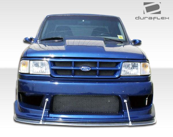 1993 1997 Ford Ranger Duraflex Drifter Front Bumper Cover