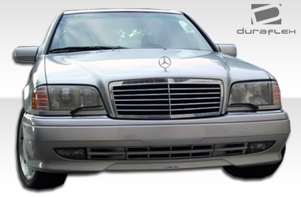 1994 2000 mercedes c class w202 duraflex amg look front bumper 1 piece body kit 6928366708955 ebay. Black Bedroom Furniture Sets. Home Design Ideas