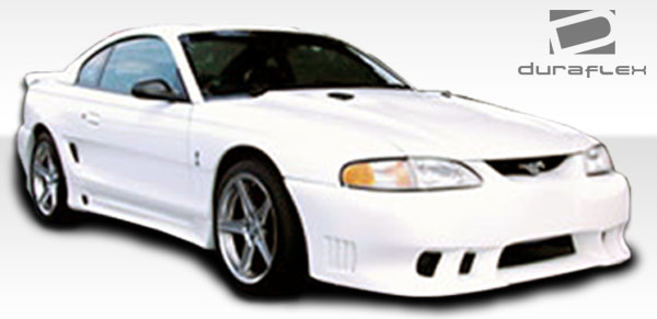 1997 Ford Mustang ALL - Polyurethane Body Kit Bodykit - Ford Mustang Couture Colt 2 Body Kit - 4 Piece - Includes Colt 2 Front Bumper Cover - Polyuret