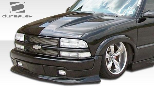 Details about 94-04 Chevrolet S-10 Cowl Duraflex Body Kit- Hood!!! 103017