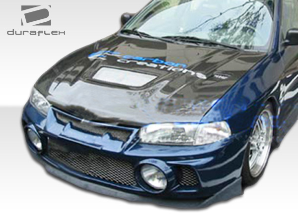 Front Bumper Body Kit for 2000 Mitsubishi Mirage 4DR - Mitsubishi Mirage  4DR Duraflex Evo 4 Front Bumper Cover - 1 Piece