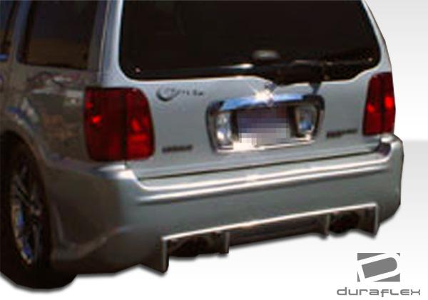 1998 2002 lincoln navigator duraflex platinum rear bumper 1pc body kit ebay. Black Bedroom Furniture Sets. Home Design Ideas