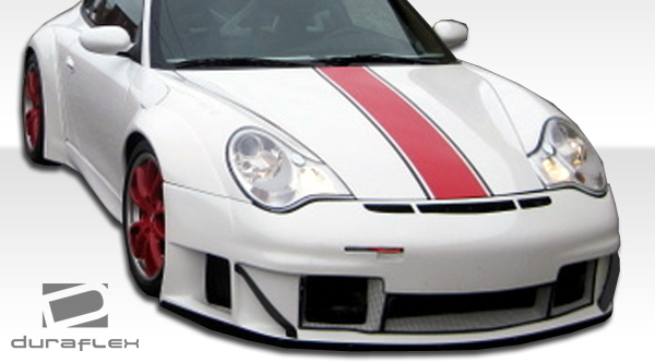 02 04 porsche 996 gt3 rsr duraflex front bumper lip wide. Black Bedroom Furniture Sets. Home Design Ideas