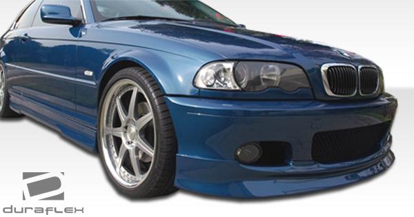 E46 2dr M-tech Front Bumper Lip Body Kit 1 Pc For BMW 3-Series 00-05 D