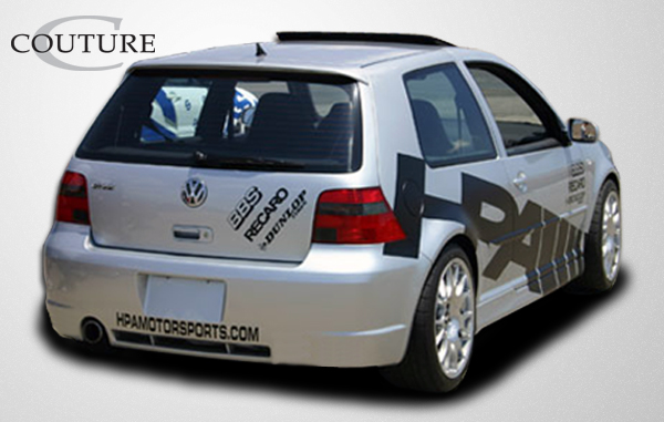 2001 Volkswagen GTI 2DR - Polyurethane Bodykit Bodykit - 1999-2005 Volkswagen GTI R32 Couture Body Kit - 4 Piece - Includes R32 Front Bumper Cover - P