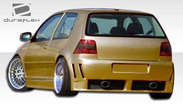 1999 2005 volkswagen golf gti duraflex piranha rear bumper. Black Bedroom Furniture Sets. Home Design Ideas