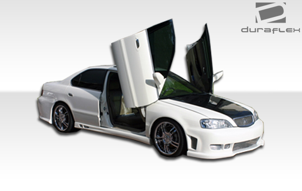 Acura TL Duraflex Spyder Front Bumper Cover Piece Body - 2003 acura tl body kit