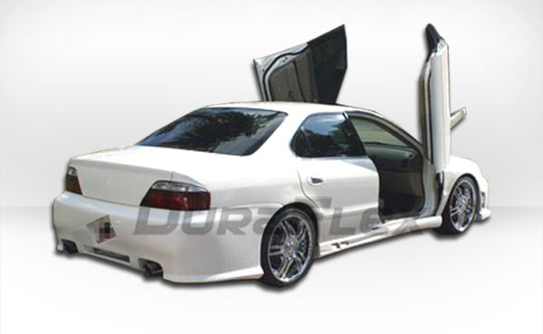 Acura TL Duraflex Spyder Rear Bumper Cover Piece Body - 2003 acura tl body kit